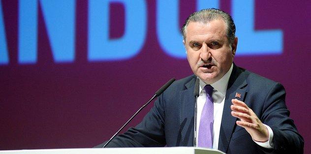 Osman Aşkın Bak Milli Paralimpik yüzücüleri tebrik etti