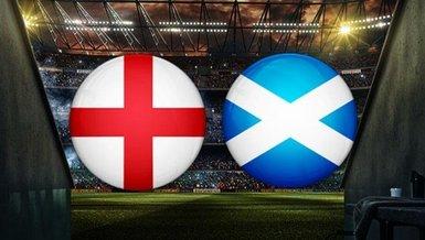 İngiltere-İskoçya maçı CANLI