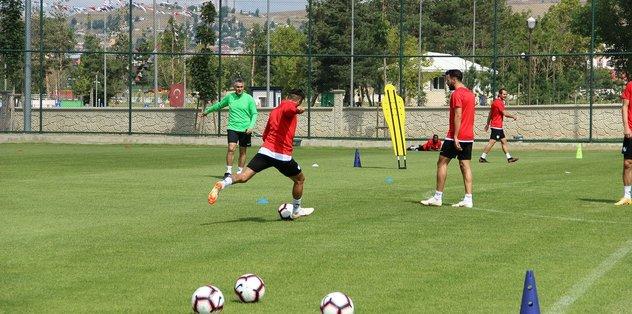 B.B. Erzurumspor Atiker Konyaspor maçı hazırlıklarını tamamladı