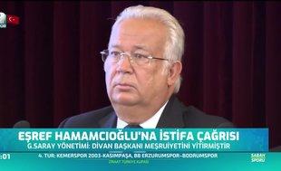 Eşref Hamamcıoğlu'na istifa çağrısı