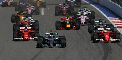 F1'de heyecan sürüyor