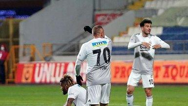 Kasımpaşa-Beşiktaş: 1-0 (MAÇ SONUCU-ÖZET)