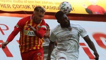 Hatayspor tek golle Kayserispor'u devirdi!