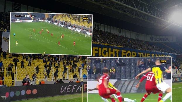 Fenerbahçe Antwerp maçında bir penaltı kararı daha!