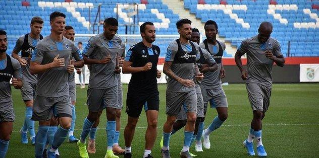 Trabzonspor'da Sparta Prag maçı hazırlıkları