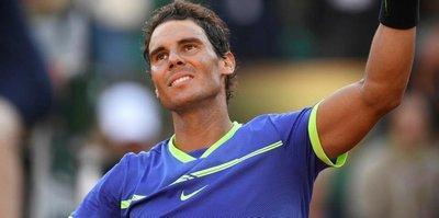 Nadal, Thiem'i rahat geçti