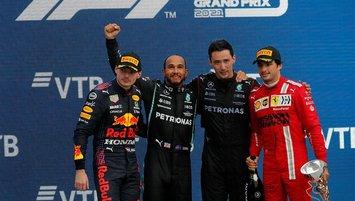 F1'de şampiyonluk heyecanı İstanbul'da!