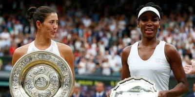 Wimbledon'da şampiyon Muguruza