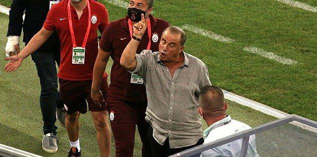 Fatih Terim o sözlere çok sinirlendi! Maç sonu gerginlik - Futbol -