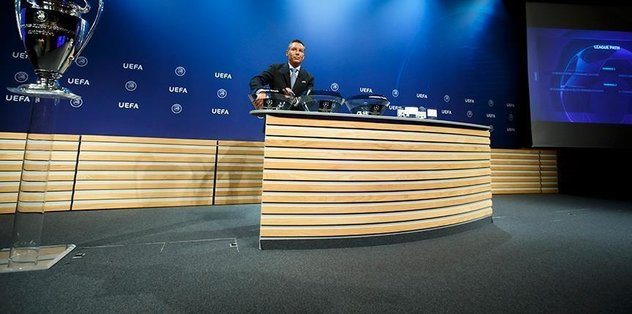 Champions League's play-off draw made