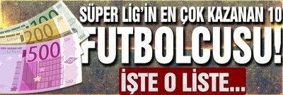 Süper Lig'in en çok kazanan 10 futbolcusu!