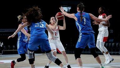 A Milli Kadın Basketbol Takımı hazırlık maçında Rusya'ya mağlup!