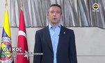 Ali Koç, Dünya Fenerbahçeliler Günü'nü kutladı