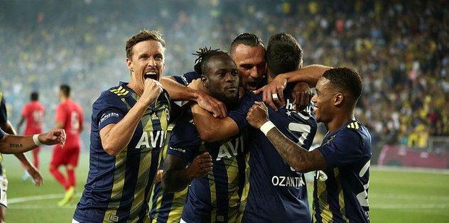 Fenerbahçe şampiyon gibi başladı