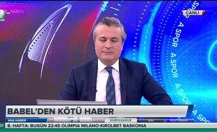 Beşiktaş'ta Babel 2 hafta forma giyemeyecek