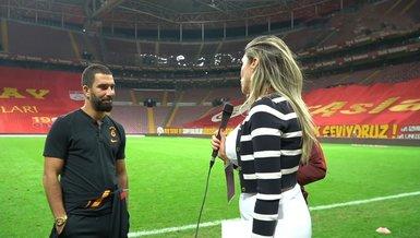 Galatasaray - Hajduk Split maçı sonrası Arda Turan'dan Mirta Surjak'a özel röportaj!