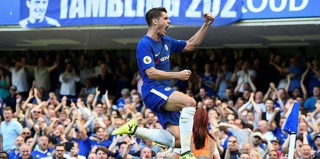 Chelsea ilk yarıdan fişi çekti