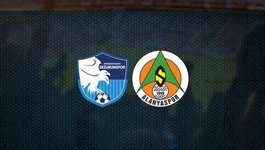 Büyükşehir Belediye Erzurumspor Alanyaspor maçı ne zaman, saat kaçta ve hangi kanalda canlı yayınlanacak? İşte detaylar...