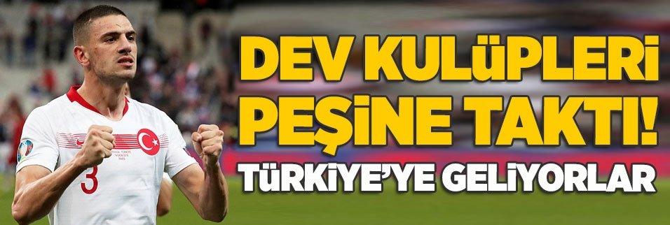 Dev takımlar Merih Demiral için Türkiye'ye geliyor!