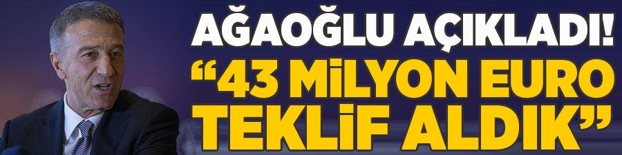 Ahmet Ağaoğlu'ndan transfer yanıtı: Evet görüşüyoruz!