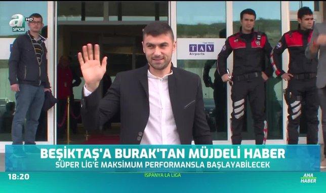 Beşiktaş'a Burak Yılmaz'dan müjdeli haber