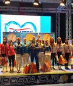 Yıldız Milli Eskrim Takımı'ndan iki bronz madalya
