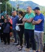 Karabükspor'da eylem