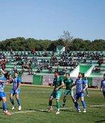 Salihli Belediyespor İzmirspor'a tek golle yıkıldı