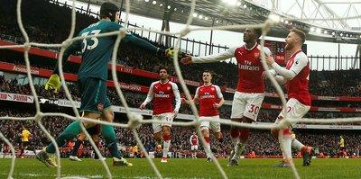 Arsenal üç maç sonra kazandı