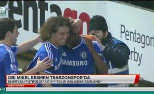 Obi Mikel resmen Trabzonspor'da