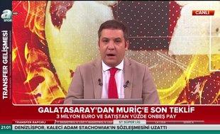 İşte Galatasaray'ın Vedat Muriç için son teklifi