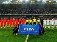 Başakşehir'deki Türkiye İran maçında İranlılar tribünü doldurdu