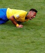Neymar yine alay konusu oldu!