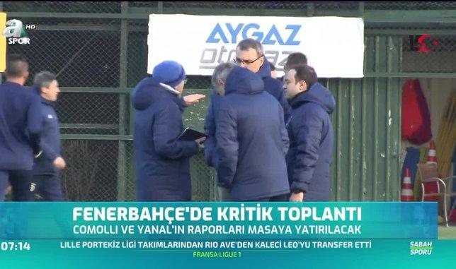 Fenerbahçe'de kritik toplantı