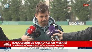 Belözoğlu kadro hedefini açıkladı! Transfer...