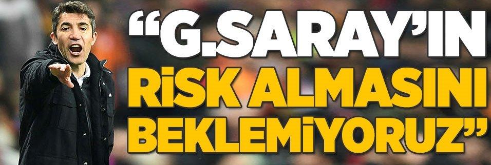 """Bruno Lage: """"Galatasaray'ın risk almasını beklemiyoruz"""""""