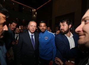 Başkan Erdoğan'dan Kasımpaşa'ya ziyaret