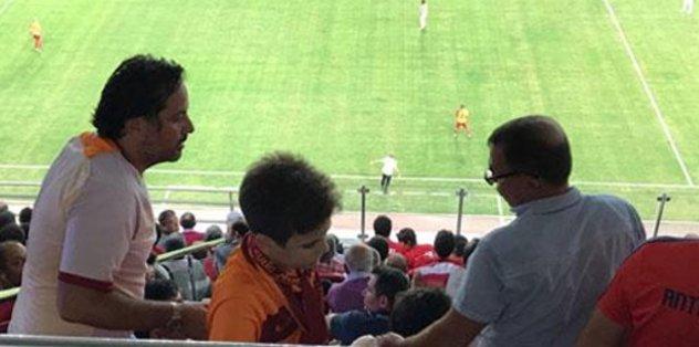 Antalyaspor tribününde gerginlik!