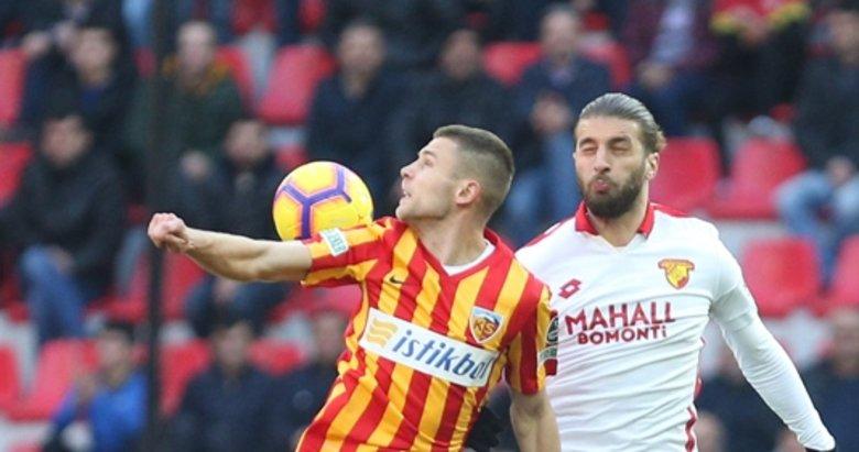 Kayserispor - Göztepe maçından kareler