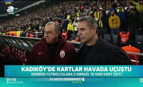Kadıköy'de kartlar havada uçuştu