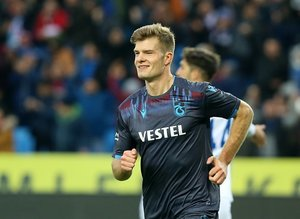 Trabzonspor - Kasımpaşa karşılaşmasından kareler...