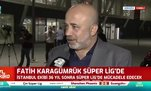 Murat Sancak: Karagümrük'ü tebrik ediyorum