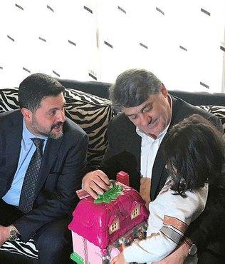 Beşiktaşlı yöneticiler Mehmet Tutulkan'ın evine taziye ziyaretinde bulundu