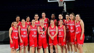 A Milli Kadın Basketbol Takımı'nın dünya sıralamasındaki yeri değişmedi