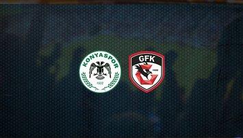 Konyaspor - Gaziantep FK maçı saat kaçta ve hangi kanalda?