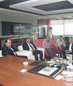 Yıldırım Demirören Eskişehirspor'u ziyaret etti