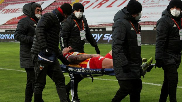 Alibec'ten Kayserispor'a kötü haber! 2-3 hafta yok #