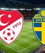 Türkiye - İsveç | CANLI