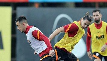 Galatasaray hazırlıklarına devam etti!
