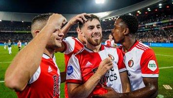 Orkun Kökçü coştu Feyenoord kazandı